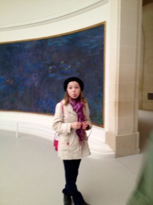 Monet's WaterLily's & Grace