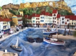 village, Cassis in paper mache