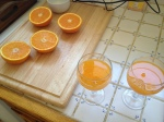 The morning after - fresh OJ